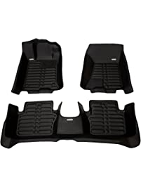 TuxMat Custom Car Floor Mats for Acura TLX AWD 2015-2020 Models- Laser Measured, Largest Coverage, Waterproof, All...