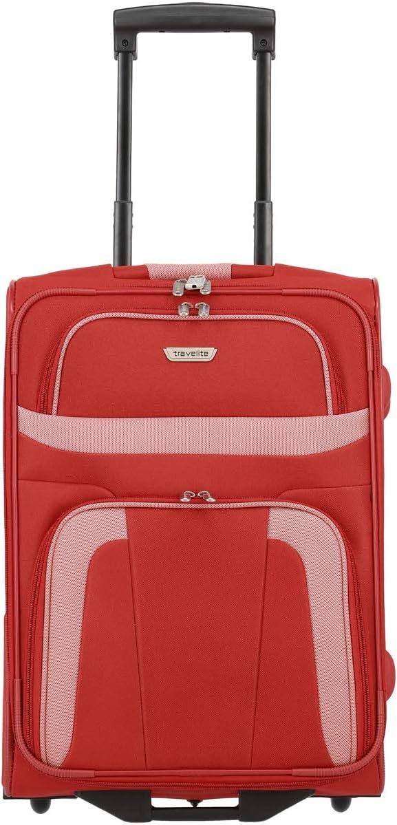 Travelite Trolley para Portátil, 37 litros, 53 cm, Rojo