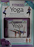 Anatomy Of Fitness Yoga Kit Set Book, DVD, Accessories