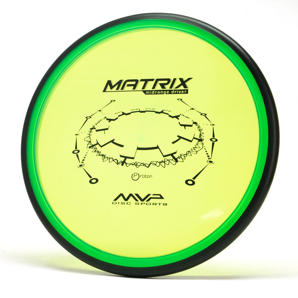 MVP Disc Sports Proton Matrix Disc Golf Midrange Driver (160-165g/Colors May Vary)