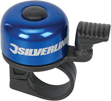 Bicycle bell with 'one-touch' design.