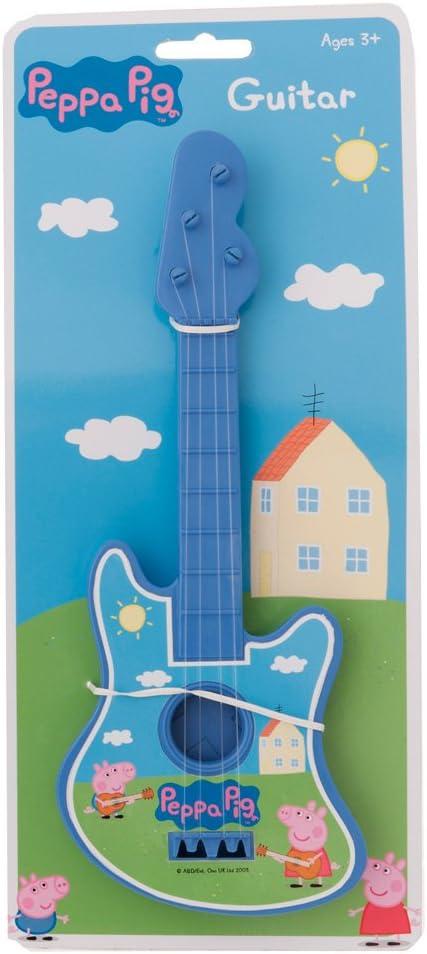 Peppa Pig guitarra (azul) [Toy]: Amazon.es: Juguetes y juegos