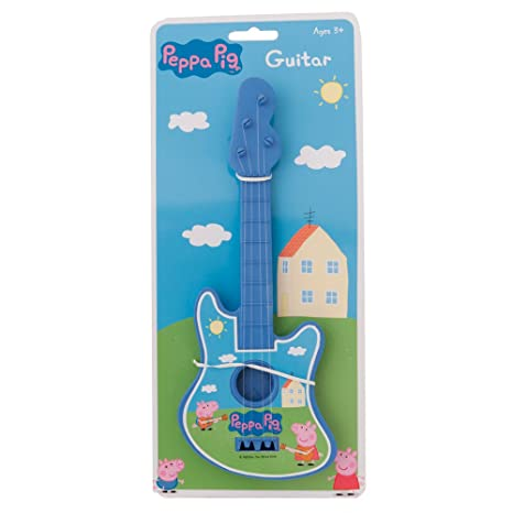 Peppa Pig guitarra (azul) [Toy]