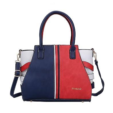 Amazon.com  Sally Young- Leather Handbags for Women Purses and Satchel  Shoulder Bags Elegant Design Top Handle Fashion Handbags - Red  Shoes 96d386d15ce0e