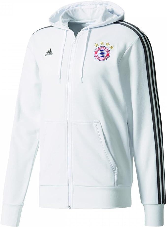 adidas FCB 3s FZ HD FC Bayern Monaco Felpa Uomo