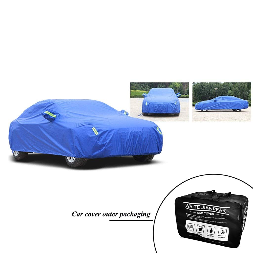 Covers DUWEN Compatible with Skoda Vision D Car Cover Outdoor Dust Cover Oxford Cloth Car Tarpaulin Car Clothing Sunscreen Insulation UV Scratch Resistant All Weather Breathable Full Car Cover