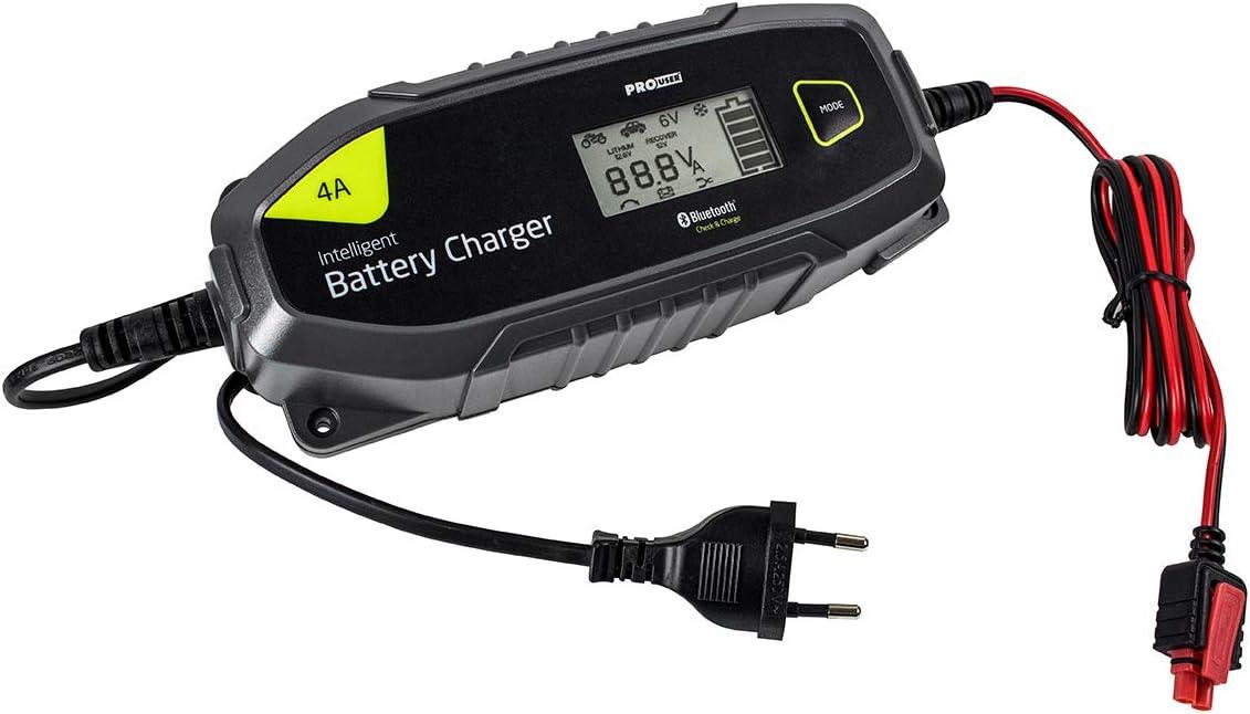 Pro User Ibc4000b 18172 Bluetooth 6v Und 12v 4 Amp Intelligentes Batterieladegerät Für Blei Und Lithiumbatterien Auto