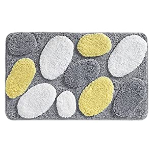 Amazing Room Essentials Vine Bath Rug  GrayYellow 20x34quot Product