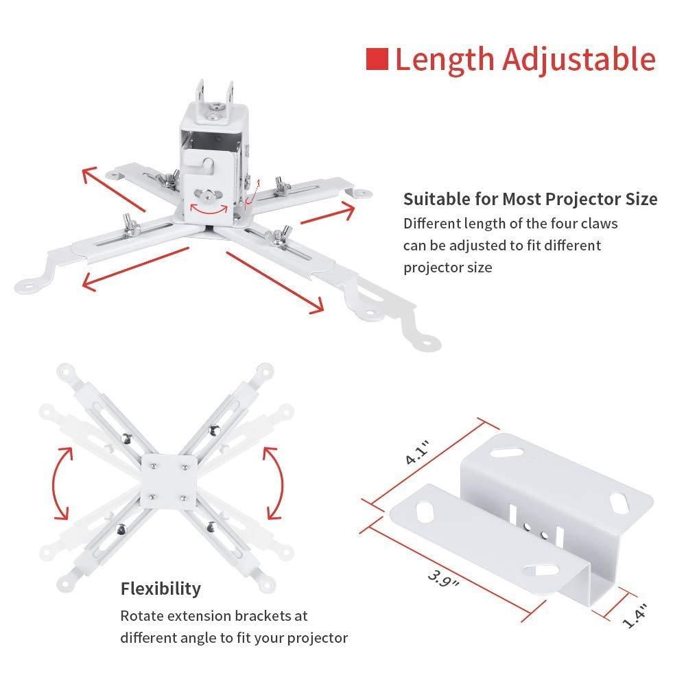 Soporte de Pared Universal para proyector LED HD para proyectores ...