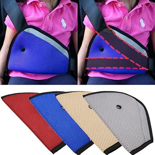 Eximtrade Car Children Toddler Seat Belt Safety Harness Reposition Strap Positioner (Blue)