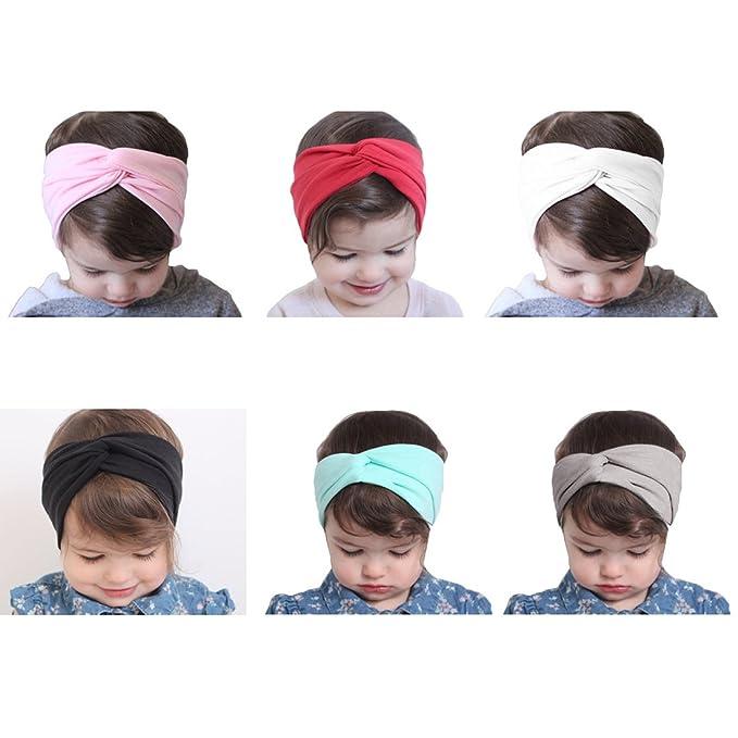 JMITHA Bébé Fille Bow Bandeau Turban Lapin Bandeaux élastique serre-tête  Wrap Photographie Belles Cheveux Accessoires (02)  Amazon.fr  Vêtements et  ... b3a9776098d
