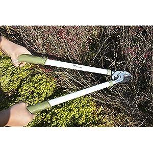 Worth Garden Anvil Lopper, Branches Trimmer, Long Arm Pruner w/ Antirust Blade, Aliuminium Alloy Handle 'N Ergonomic Soft TPR Grip