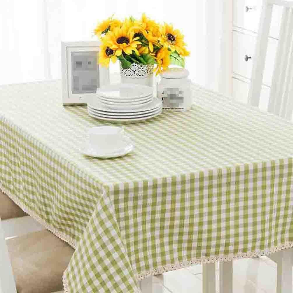 Xiaowu Garten Plaid Wasserdichte Tischdecke Baumwolle Kaffee Wohnzimmer Couchtisch Tischdecke Rechteckigen Stoff Tischset, 005, 110  110cm B07BNVNJ8T Tischdecken Qualität und Quantität garantiert    Billiger als der Preis