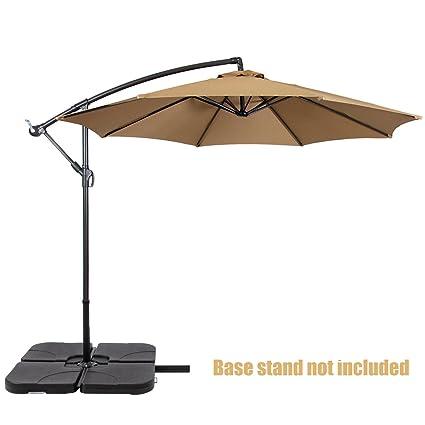 Amazon Com Koonlert14 Patio Umbrella Offset 10 Waterproof