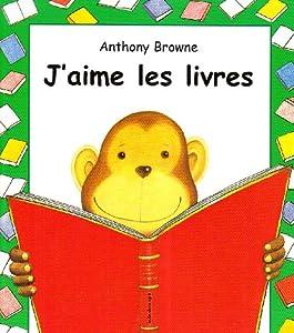 """Afficher """"J'aime les livres"""""""