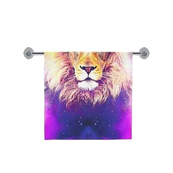 Amor naturaleza personalizado León baño cuerpo ducha toalla de baño Wrap para el hogar al aire. Pasa ...