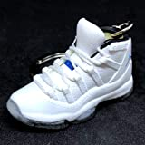 Air Jordan XI 11 Retro Hi Columbia White Legend Blue Sneakers Shoes 3D  Keychain Figure 94232df0f
