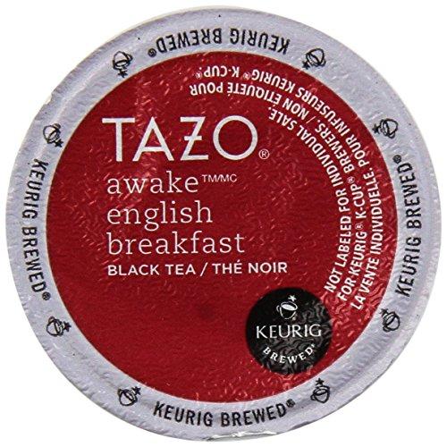 Starbucks Tazo Tea * Awake * Black Tea, 16 K-Cups for Keurig Brewers