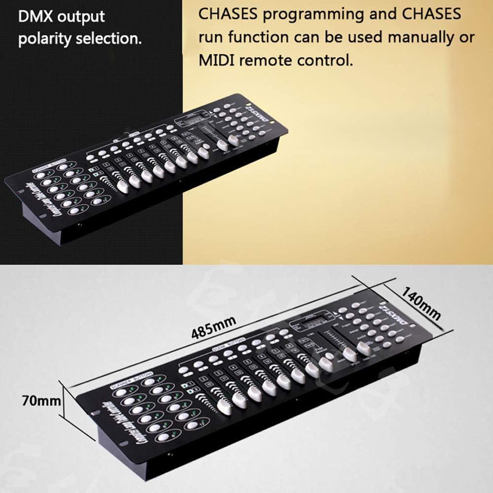 Festnight 192 Controlador DMX Equipo de DJ DMX 512 Consola ...