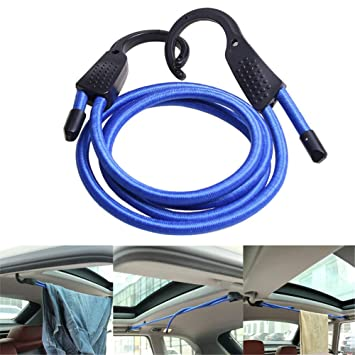 Einstellbare Auto Gepäckgurte Seile Gürtel Wäscheleinen mit Haken