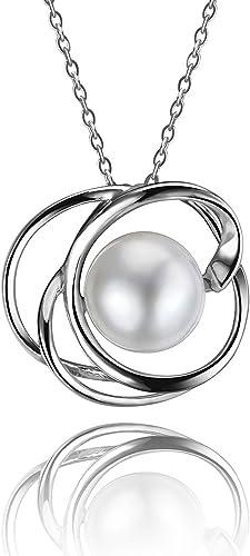 MMC Pearl Fashion Silver Pendants Necklaces