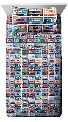 Nickelodeon Nick the 90' s Mix Tape 3 Piece Twin Sheet Set