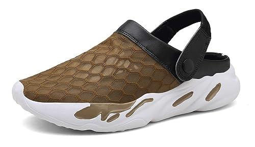 design distinctif commercialisable meilleure valeur Gaatpot Unisexe Adulte Sabots Sandales Été Hommes Femmes Mules Chaussure  Hopital Sandale de Plage Pantoufles de Jardin
