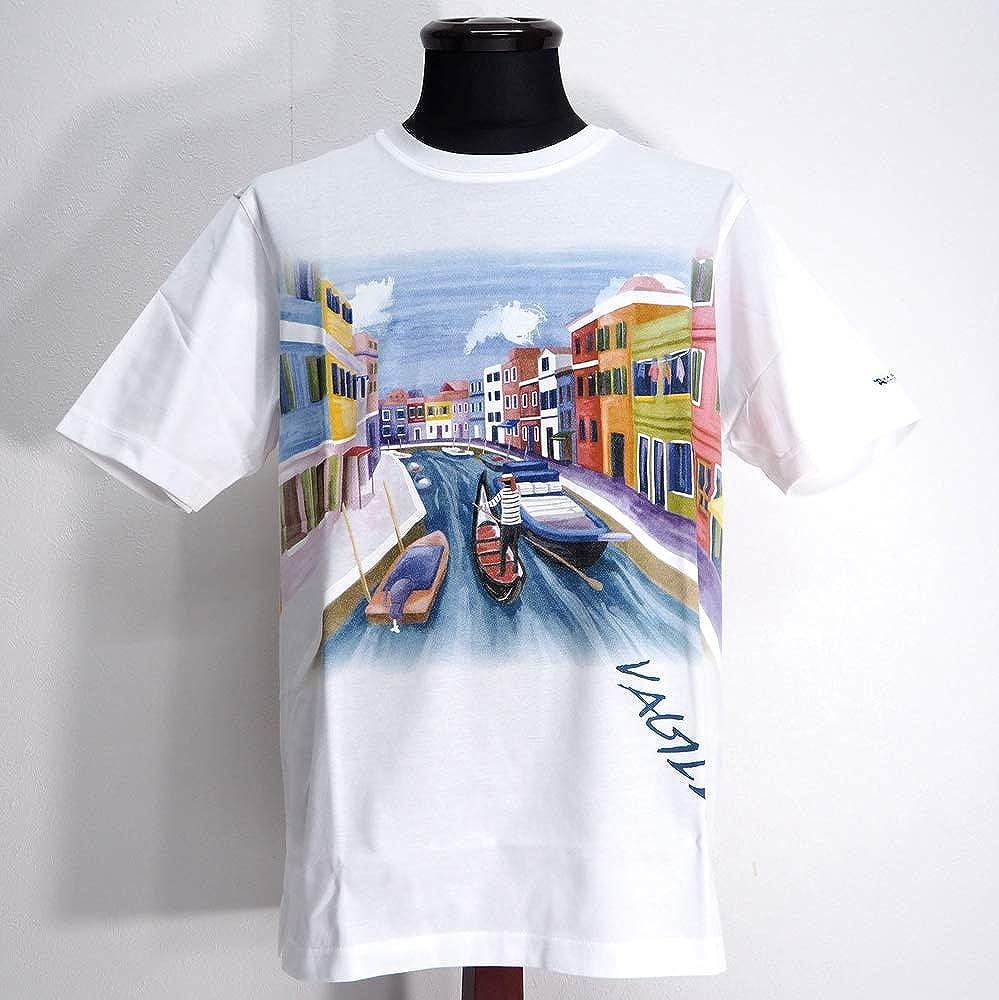 今年も話題の 50828 VAGIIE バジエ 日本製 UVカット Uネック 通販 丸首 Tシャツ VAGIIE 半袖 ホワイト ホワイト 48(L) サイズ 日本製 メンズ カジュアル 男性 春夏 ゴルフ 通販 B07NP7KZ3W, ヤマツリマチ:1712b8ac --- narvafouette.eu