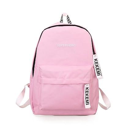 7331501ab7db Amazon.com: ❤ Sunbona Schoolbag Women Girls Fashion Letter Print ...