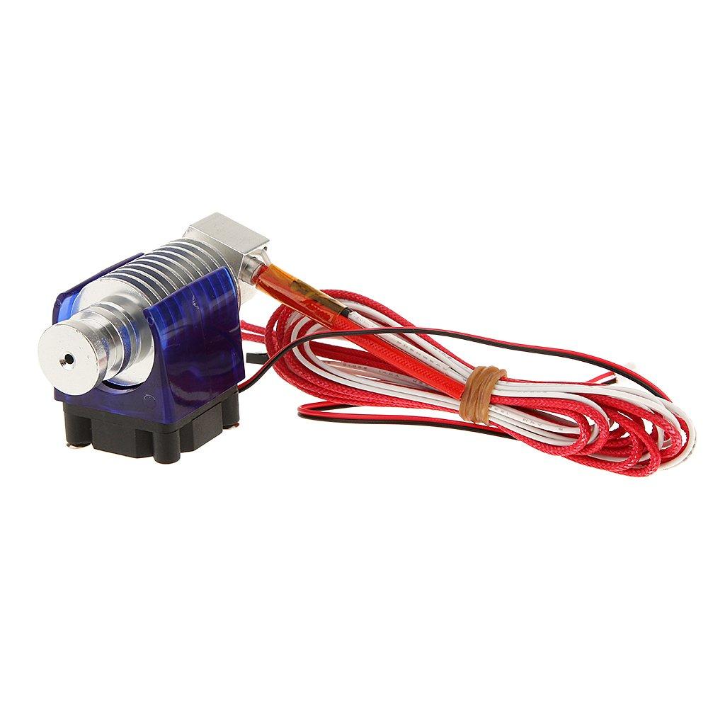 MagiDeal Estrusore con Ventilatore 1.75 Millimetri Ugello Filamento 0.3 Millimetri 12V Per Stampante 3D