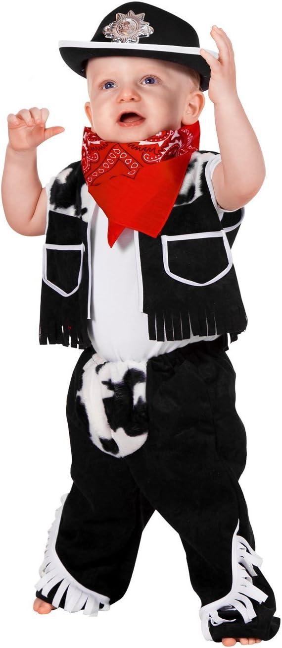Stekarneval - Disfraz de vaquero para niño, talla 98 cm (302998 ...