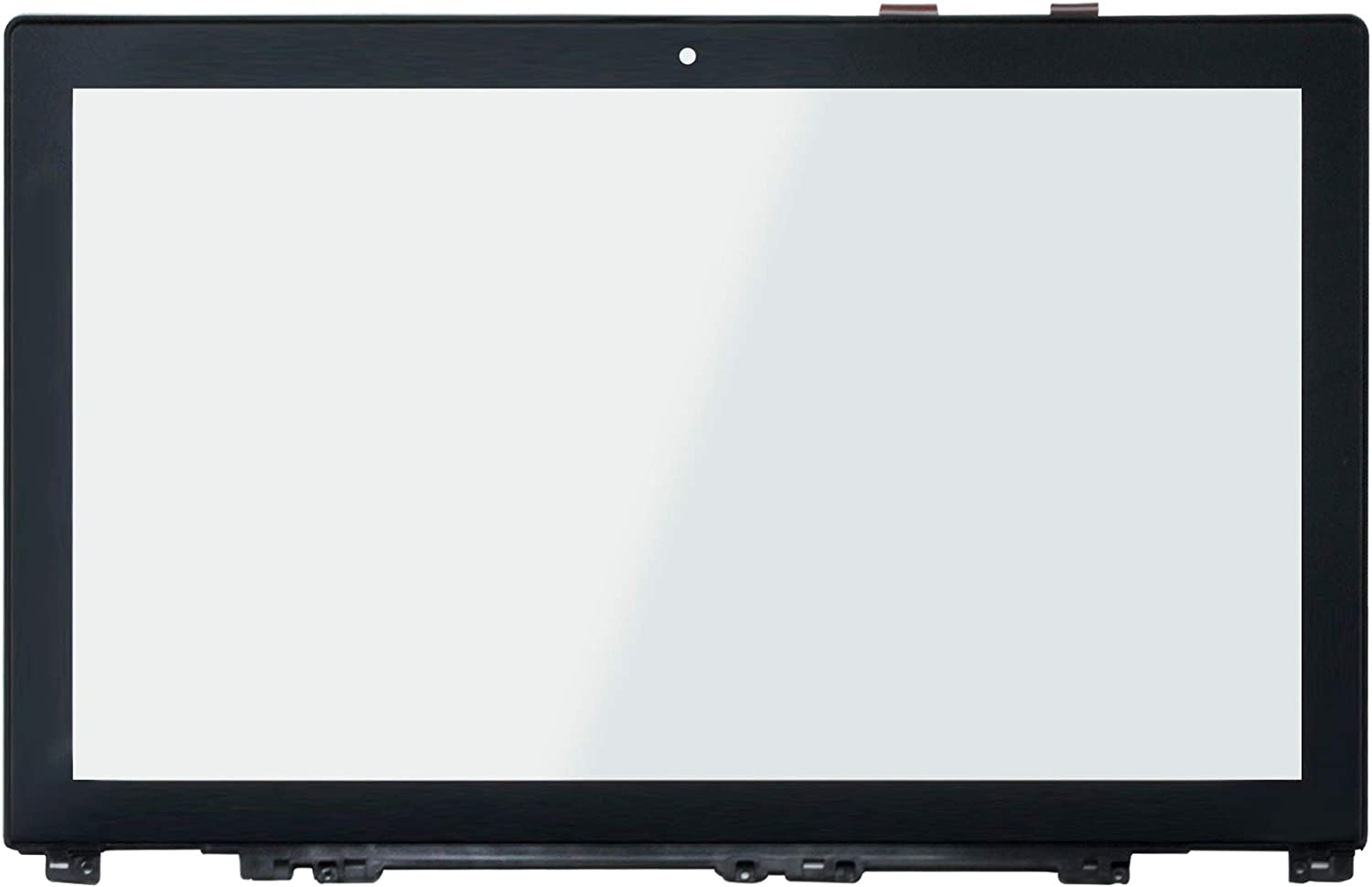 LCDOLED Replacement 15.6 inches Touch Screen Digitizer Front Glass Panel with Bezel for Lenovo IdeaPad U530 20289 Touch Ultrabook (Touch Digitizer + Bezel)