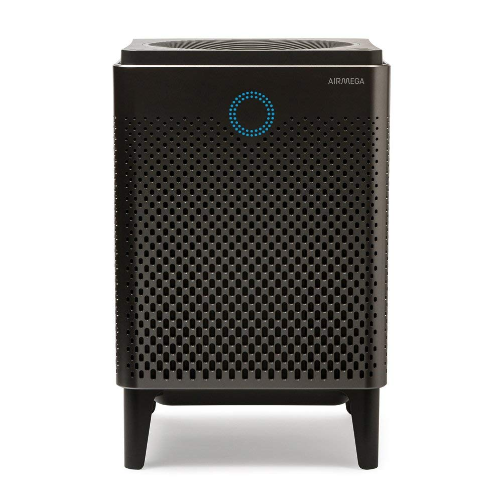 Coway Airmega 400 in Graphite Silver Smart Air Purifier with 1,560 sq. ft. Coverage Renewed