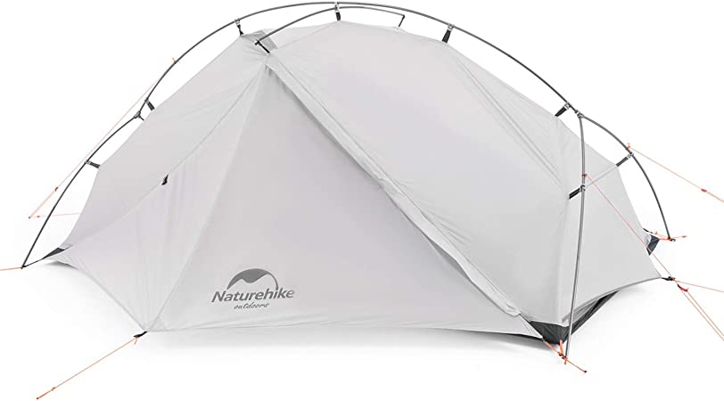 Naturehike Vik 1/2 Person Ultralight Backpacking Tent - 4 Season Lightweight Waterproof Camping Tent for Outdoor Camping, Hiking, Mountaineering, 2.6lbs with Foot Print