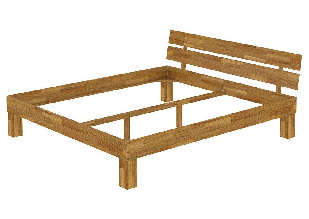 Erst-Holz® Doppelbett Ehebett 180x200 Kingsize-Bettgestell Eiche ...