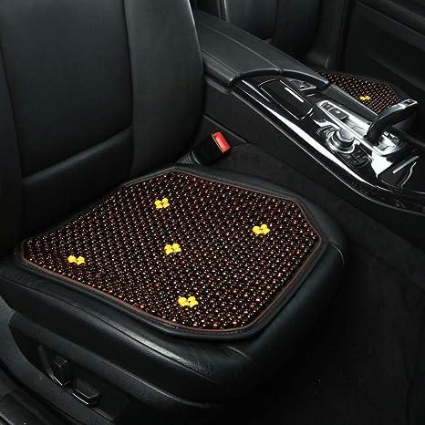 ChengBangDa Seat Covers Natural Maple Wood Bead Car Cushion Massage Breathable Cool Environmental Mat