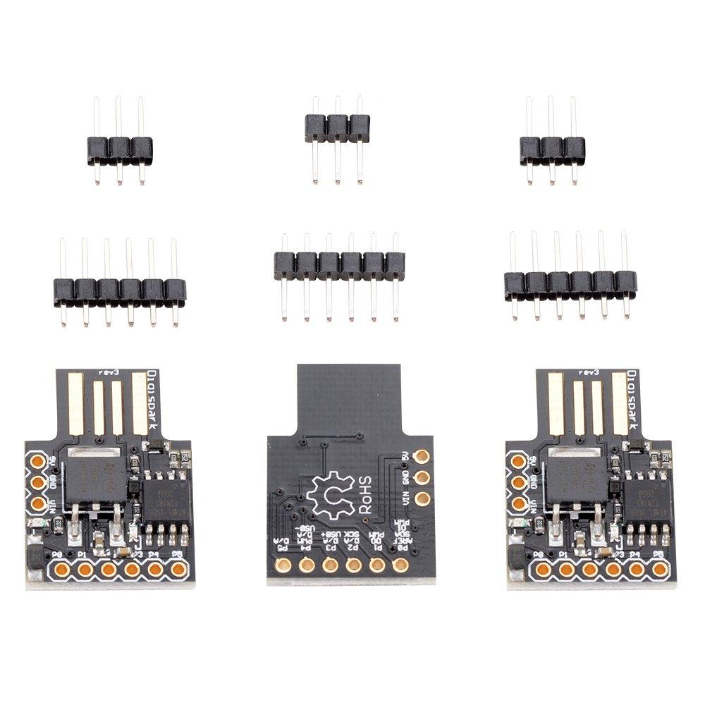 XCSOURCE 3pcs Digispark Kickstarter Attiny85 General Mikro USB Entwicklung Board f/ür Arduino TE531
