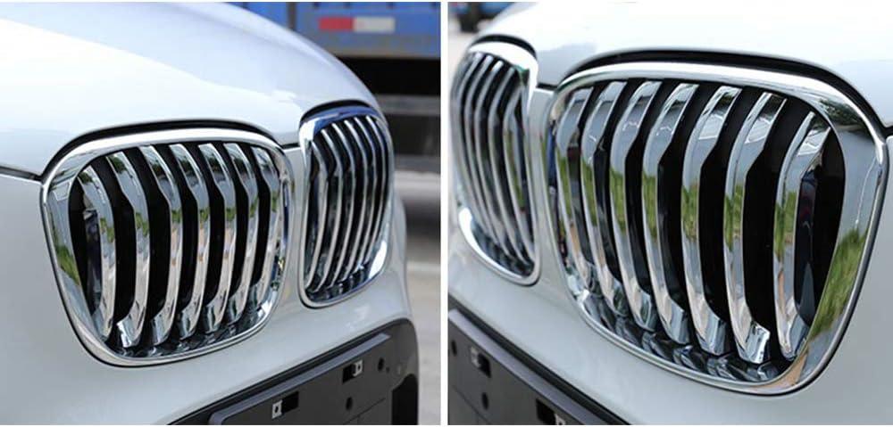 GRIGLIA ANTERIORE DESTRA CROMATA-CROMATA-NERA PER BMW X1 F48 15/>