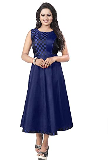65fb5ddf5ac Jenish Enterprise Trendy designer party wear dress for womens Latest  bollywood fancy gown style anarkali kurti