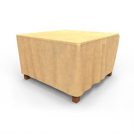 Amazon Com Budge All Seasons Square Patio Table Cover Medium Tan