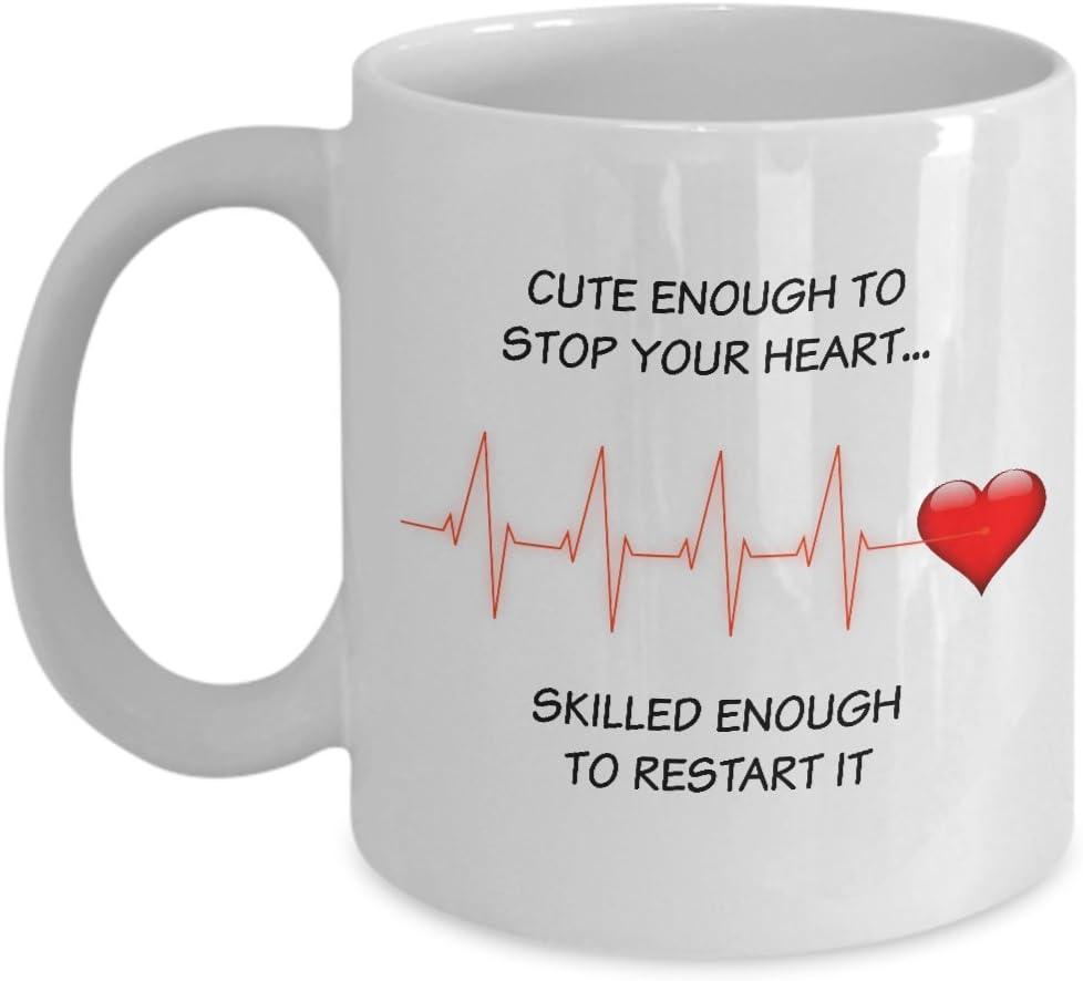 11oz Ceramic Coffee Tea Mug Glass Cup Cute Skilled Nurse