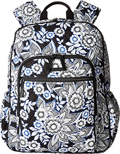 Vera Bradley Women's Campus Tech Backpack, Snow Lotus by Vera Bradley