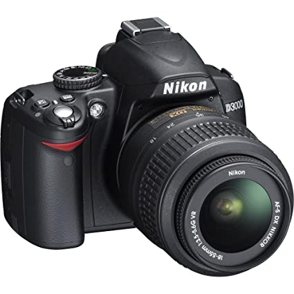 amazon com nikon d3000 10mp digital slr camera with 18 55mm f 3 5 rh amazon com Nikon D3000 Manual Owners Nikon D3000 Camera Case