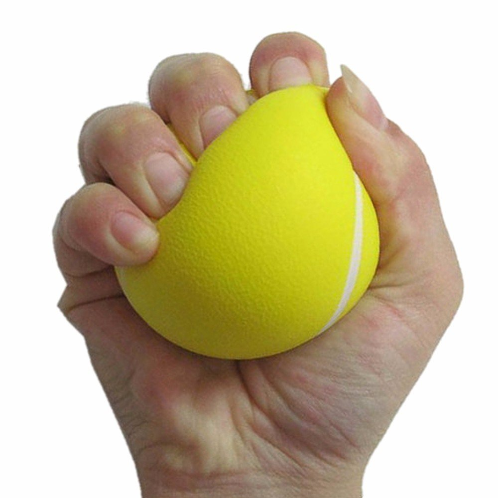 Esponja El/ástica Peso Ligero Adecuado para Hombres Y Mujeres,S Cinta Ins/ípido FLAUU Entrenador De Dedos Material De Esponja El/ástica