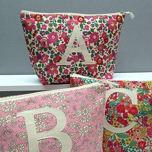 amazon com liberty print personalized toiletry bag wash bag liberty