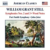 William Grant Still: Symphonies Nos. 2 and 3; Wood Notes by Fort Smith Symphony (2011) Audio CD