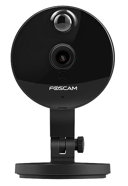 Foscam C1 V3- Cámara IP Wi-Fi HD 720p, Visión nocturna, Detección