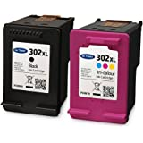 Ink Trader Remanufactured HP 302XL Black & Colour Ink Cartridges For use with HP Envy 4524 Printers - By Ink Trader
