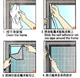 Eco-Friendly Velcro Window Screen for Mosquito