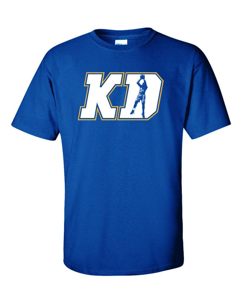 Blue kevin durant golden state warriors kd t shirt 60 for Kevin durant golden state warriors t shirt
